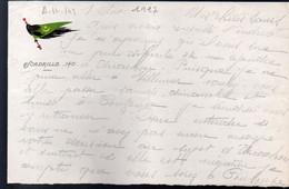 (aviation Guerre 14-18) Lettre Avec Entête ESCADRILLE 140  1917  (PPP31491) - Unclassified
