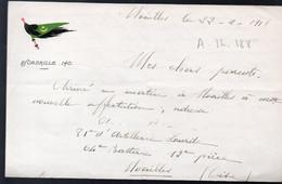 (aviation Guerre 14-18) Lettre Avec Entête ESCADRILLE 140.  1918 (PPP31492) - Unclassified