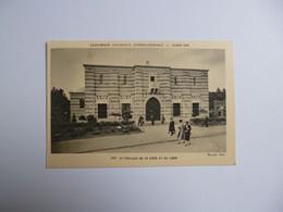 PARIS  -  Exposition Coloniale 1931  -  Le Pavillon De La Syrie Et Du Liban - Expositions