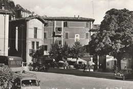 CPSM ITALIE CASTELNUOVOMONTI  PIAZZA PERETTI CAFFE ITALIA - Non Classificati