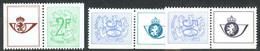 België PU209/211 ** - Cijfer Op Heraldieke Leeuw - Volledig 3w. - Werbung