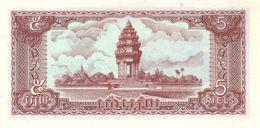 CAMBODIA P. 29a  5 R 1979  UNC - Kambodscha