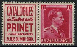 België PU160 ** - Prinet - Werbung
