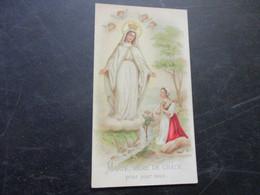 Heiligenprentje,Marie Mere De Grace - Devotion Images
