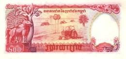CAMBODIA P. 38a 500 R 1991 UNC - Kambodscha