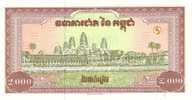 CAMBODIA P. 45a 2000 R  1995 UNC - Kambodscha