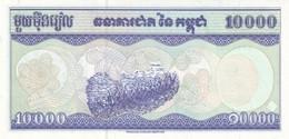 CAMBODIA P. 47b 10000 R 1998 UNC - Kambodscha