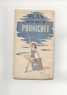 PLAN   DE LA VILLE  DE PORNICHET - Unclassified