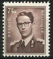 België 1070 * - Koning Boudewijn - Type Marchand - 7,50 Bruin - Unused Stamps