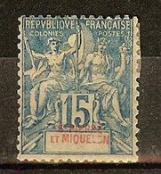 ST PIERRE Et MIQUELON N°64a* - Cote 150.00 € - Nuovi