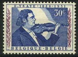 België 1063 ** - Eeuwfeest Van De Geboorte Van Eugène Ysaye - Componist-violist - Compositeur-violoniste Belge - Unused Stamps
