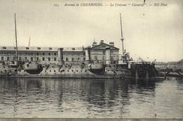 """Arsenal De CHERBOURG  Le Croiseur """"Cassard"""" RV RV - Cherbourg"""
