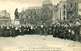 DIEPPE = Tri Centenaire De Duquesne =  Aspect De La Place Nationale...    2515 - Dieppe