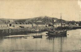 CHERBOURG  L'Avant Port Et Le Fort De La Roule RV - Cherbourg