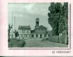 Série N° 4229 FOSSE Photo Originale De Marcel Guilbaut 62 Pas De Calais Méricourt Carte Double - Altri Comuni