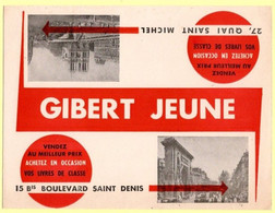 Buvard Gibert Jeune, Livres De Classe. Paris. - Stationeries (flat Articles)