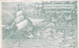 ESPERANTO. FEDERAZIONE ESPERANTISTA ITALIANA. ITALIE CARTE POSTALE CIRCULEE ANNEE 1919, GENOVA A ARGENTINE.- LILHU - Esperanto