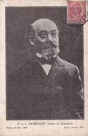 ZAMONHOF, AUTORO DE ESPERANTO. ESPERANTA GRUPO VICENZA. CARTE POSTALE CIRCULEE ANNEE 1922, A ARGENTINE.- LILHU - Esperanto