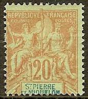 ST PIERRE Et MIQUELON N°65* - Cote 35.00 € - Nuovi