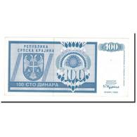 Billet, Croatie, 100 Dinara, 1992, KM:R3a, TTB+ - Croatia