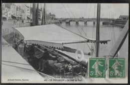 CPA 44 - Le Pouliguen, Le Fond Du Port - Le Pouliguen