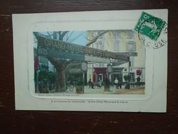 """Carte Assez Rare , à La Fontaine De Vaucluse , Grand Hôtel Pétrarque Et Laure """""""" Carte Animée """""""" - Autres Communes"""