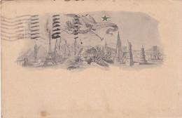 ESPERANTO. CARTE POSTALE CIRCULEE ANNEE 1920, GENOVA A BAHIA BLANCA, ARGENTINE.- LILHU - Esperanto