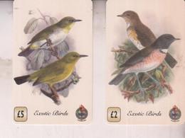BIRDS UCCELLI  PHONECARD  EXOTIC BIRDS - Altri