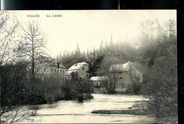 CP ( Walzin: La Lesse) Obl. ANZEREMME 08/09/1908  + Griffe De WALZIN - Linear Postmarks
