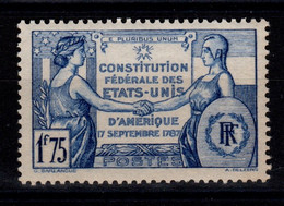 YV 357 N** Constitution Des Etats Unis Cote 5 Euros - Nuovi