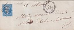 "FRANCE : GC 829 . "" CHABRIS "" . (35) . N° 22 . 1864 . - 1849-1876: Klassieke Periode"