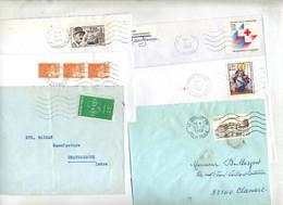 Lot 75 Lettres  Flamme Muette Sur Commémoratif à Voir - Mechanical Postmarks (Advertisement)