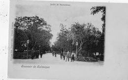 GRECE SOUVENIR DE SALONIQUE JARDIN DE BECHTCHINAR   (CARTE PRECURSEUR ) - Griekenland