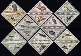 SERIE NEUVE DE MAURITANIE - OISEAUX DIVERS N° Y&T TAXE 34 A 49 - Verzamelingen, Voorwerpen & Reeksen