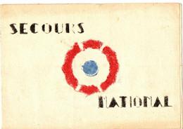 CARNET SECOURS NATIONAL .FAIT PAR OFLAG 8 M. FABRICATION ARTISANALE - Autres