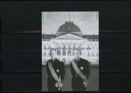 België BL105 MV - Koning Boudewijn - Koning Albert II - Oplage: 75ex. - Zeldzaam - Rare - Cote: € 75,00 - Ministervelletjes