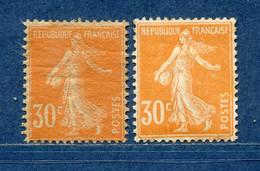 ⭐ France - Variété - YT N° 141 - Couleurs - Pétouilles - Neuf Avec Charnière - 1906 ⭐ - Varietà: 1900-20 Nuovi