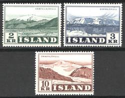 Islanda 1957 Unif.274/76 **/MNH VF/F - Nuevos