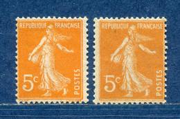 ⭐ France - Variété - YT N° 158 - Couleurs - Pétouilles - Neuf Sans Charnière - 1921 ⭐ - Varietà: 1921-30 Nuovi