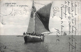 Heist - Heyst - Bateau De Promenade (animation 1910) - Heist