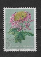 CHINE 1960 10 Fen Flower - Gebruikt