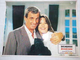 PHOTO D' EXPLOITATION 40 X 30 - JOYEUSES PAQUES - BELMONDO ET SOPHIE MARCEAU - FILM DE GEORGES LAUTNER 1984 - Fotos