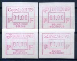 Belgique 1989/90 Neuf ** 100% ATM -01.00 - Automatenmarken (ATM)