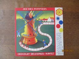 CHOCOLAT DELESPAUL HAVEZ JEU DES POMPIERS L.GOUGEON - Publicités