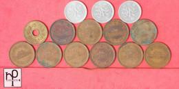 JAPAN    - LOT 14  COINS  - (Nº44707) - Japan