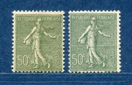 ⭐ France - Variété - YT N° 198 - Couleurs - Pétouilles - Neuf Sans Charnière - 1924 ⭐ - Varietà: 1921-30 Nuovi