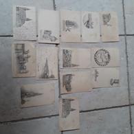 78 Poissy - Lot De 13 Cartes -Série 1 N°1 à 11+2 Doubles N° 9+11 - Vues De Poissy Par Edmond Bories-cartes Précurseurs - Poissy