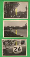 Autodromo Monza 1 Prototype Car + 2 Old Photo Cars Spectators In Monza   Cars Endurance Racing Car - Automobili