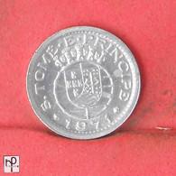 SAINT THOMAS E PRINCIPE 10 CENTAVOS 1971 -    KM# 15a - (Nº44730) - Sao Tome And Principe