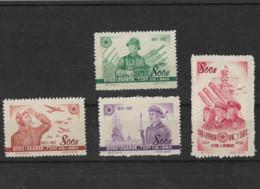 CHINE 1952 N° 951 à 954 - Ongebruikt